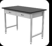 aluminum-table